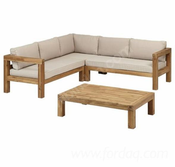 Pine Garden Furniture Set