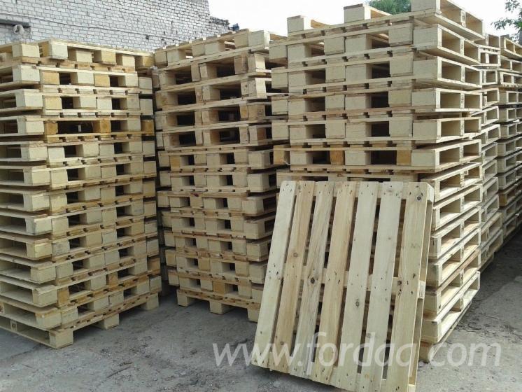 New Pine Pallets, ISPM 15, 800x1200 mm