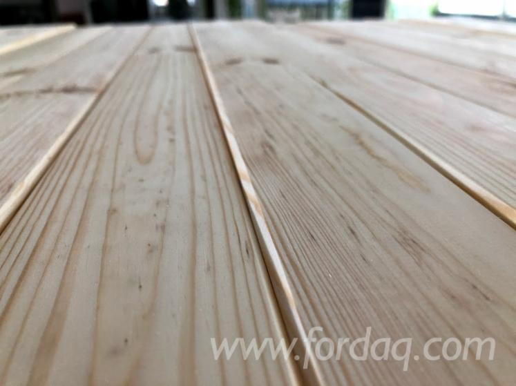 FSC Pine Profiled Timber S4S, 10-150 mm