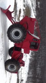 Maszyny Leśne Używane - Przegubowy Ciągnik Zrywkowy Deutz Używane 1996 Rumunia