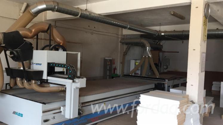 Gebraucht-AES-XTREME-2142-2014-Bearbeitungszentren-Zum-S%C3%A4gen--Fr%C3%A4sen--Bohren