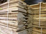 null - German Ash Lumber, unedged, debarked, KD, regular color