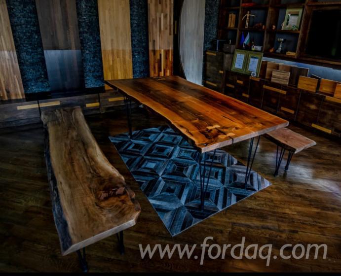 Vender Mesas De Jantar País Madeira Maciça Européia Noz Bulgária