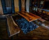 Mobili da Sala da Pranzo - Vendo Tavoli Da Pranzo Country Latifoglie Europee Noce