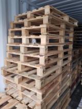 Pine Euro Pallets, 800x1200 mm