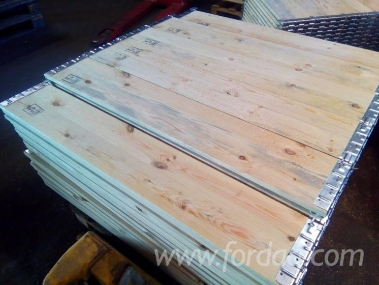 New Spruce/Pine Pallet Collars & Pliable Industrial Crates, 800x1200 mm