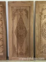 Азіатська Листяна Деревина, Двері, Деревина Масив, Тікове Дерево