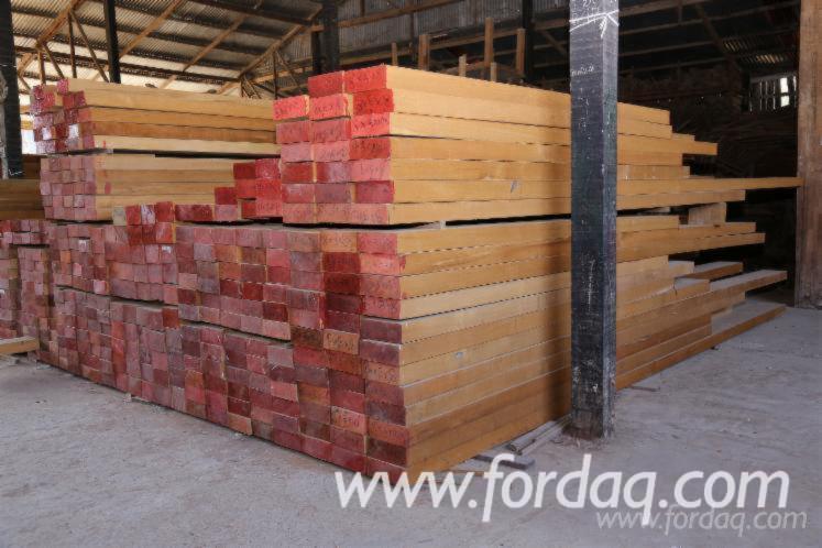 FEQ Teak Planks, AD, 25-75 mm