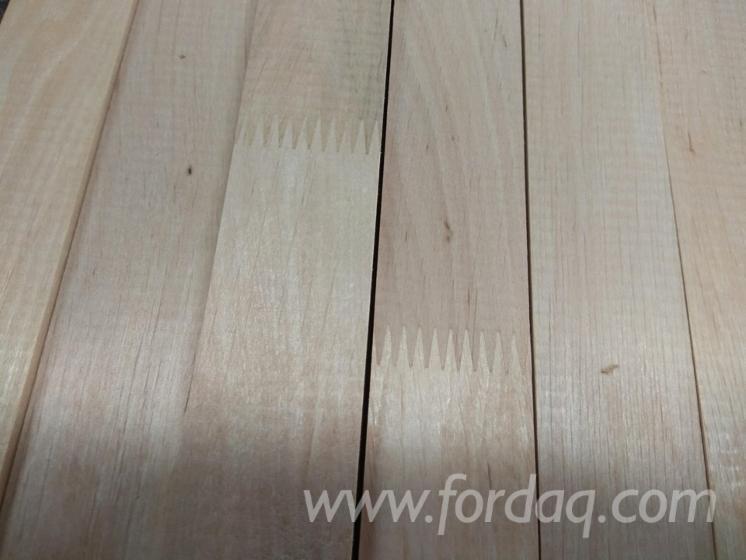 Beech/Oak/Grey Alder Glued Window Scantlings, 48-84 mm
