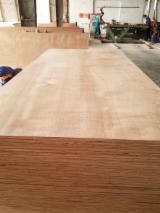 Okoumé (Face/Back) Commercial Plywood, 5-18 mm