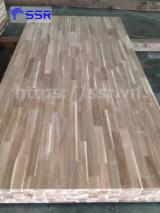 Acacia FJ Laminated Panel/Board, FSC, 12-38 mm