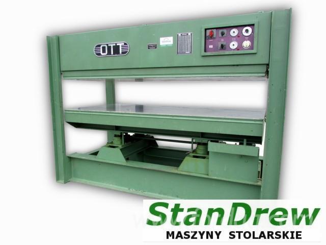 Used-OTT-JU90-High-Frequency-Gluing-Press