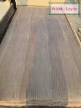 Black Walnut Natural Veneer (Layon), 0.21 mm