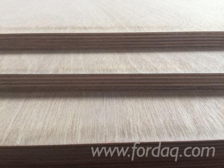 Natural pencil cedar plywood BB/BB grade with poplar combi core