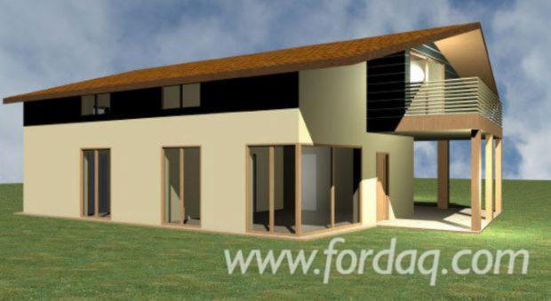Casas De Painel Estrutural Abeto - Whitewood Madeira Macia Européia Itália