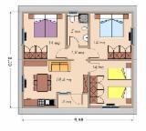 Dom Z Paneli Strukturalnych, Świerk - Whitewood