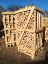 Birch, Hornbeam, Oak Firewood/Woodlogs Not Cleaved 6-16 mm