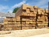 Find best timber supplies on Fordaq - ALLEGRETTO S.A. - Fresh Sawn Oak Sleepers (EN ISO 90012015-11), 165 mm