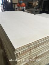 1.22*2.44*15mm Bleached poplar core furniture plywood with CARB P2