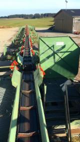 Log Sorting Station - Log sorting line / Springer / VK / Bruks