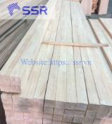 rubber wood finger joint block- rubberwood laminated block