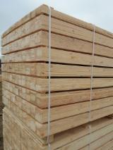 New Spruce/Pine Semi Assembled Pallets, 800-1500 mm