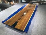 Epoxy/Resin Black Walnut Table Top - 2200x990x45 mm