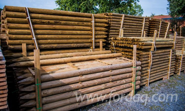 Oak-Poles-Stakes-Required
