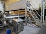Used MDF continuous press line/used woof based panel production line