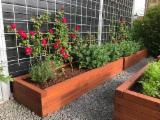 Robinia Black Locust Plant Boxes/ Bed Garden