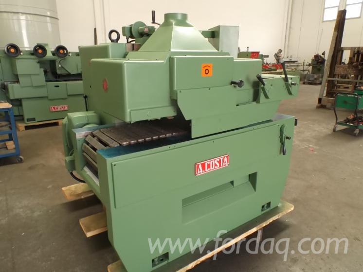 Used Costa LINCE 1 1987 Gang Rip Saws With Roller Or Slat Feed For Sale Italy