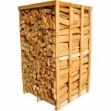 Dry Beech/Oak/Birch Firewood On Pallets