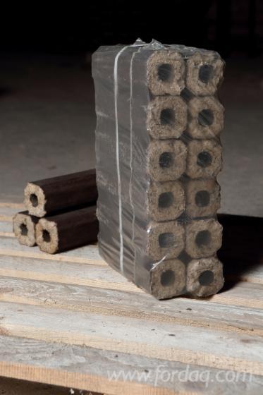 KD Oak/Hornbeam Wood Briquets, 65 mm