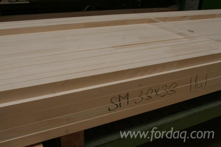 Spruce FJ Elements (Mouldings) Required, 48x48x2400 mm