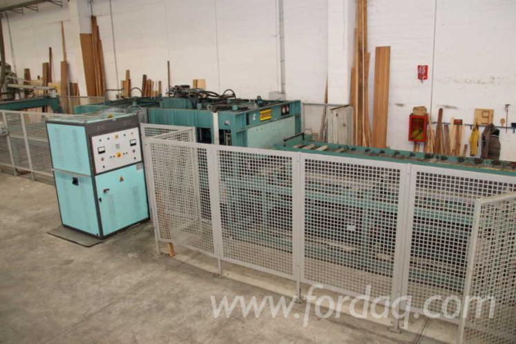 BAIONI presse TORNADO 4500x1300 laminate panels and blockboards