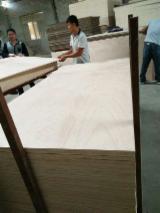 Okoumé Veneer Faced Commercial Plywood, 2.0-25 mm
