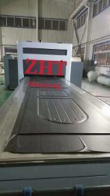 Laminated Wood Press - New ZHT TM4500 Film Laminating Machine for PVC Paint-Free Door