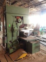 Woodworking Machinery - Used Bratstvo Band Saw Machine, 1992