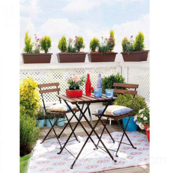 FSC Outdoor Folding Bistro Patio Set (Chairs+Table)