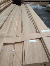 White Oak Quarter Veneer Sheets, 0.55 mm