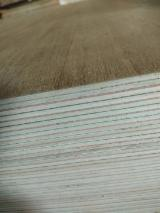 Teak Natural Plywood (India Market), AAA, 1.7-3.6 mm
