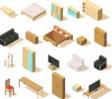 Drewno Lite Z Innymi Materiałami Wykończeniowymi