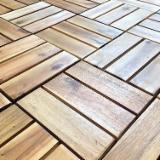 Vietnam Acacia Waterproof Wood Tiles, FSC, 300x300 mm