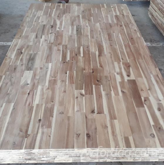 Acacia Solid Wood Panel (FJ), 20 mm