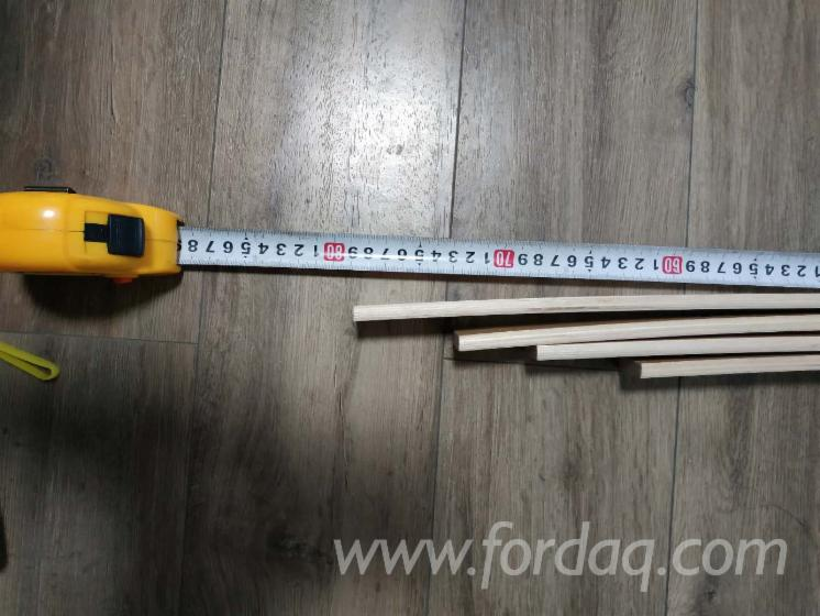 Birch/Poplar/Pine Bed Slats, 8x36-38 mm