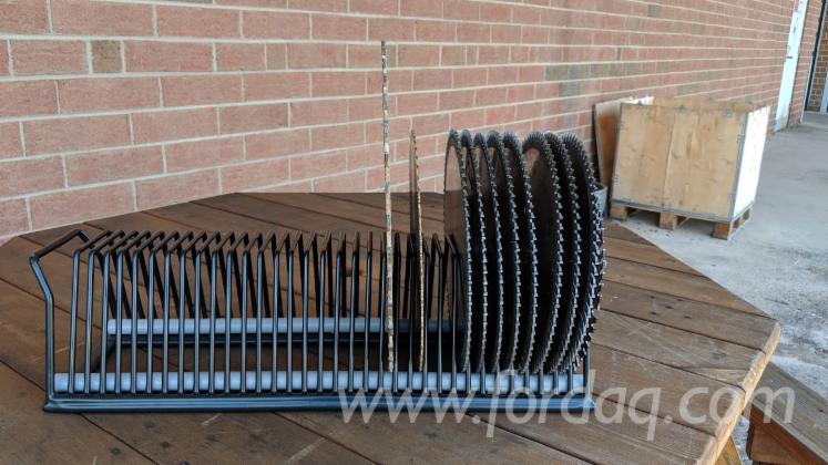 Neu-LONGATO-Saw-Blade-Rack-Messer-Sch%C3%A4rfmaschinen-Zu-Verkaufen
