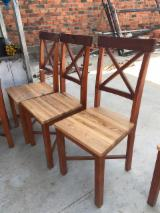 Find best timber supplies on Fordaq - Doan Partners Co., Ltd - Rubberwood Garden Chairs (Design Style)
