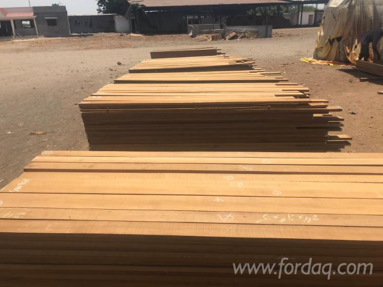 KD Teak Planks (FEQ), 1800-4000 mm