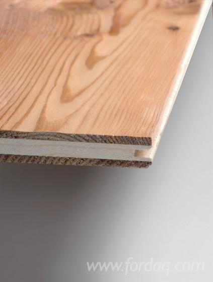Trójwarstwowy Panel Z Litego Drewna, Akacja, Kasztan, Dąb