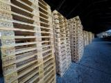 New Pine/Spruce Euro Pallets, 800x1200 mm